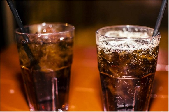 炭酸やカフェイン